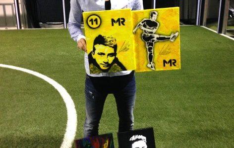 Popart Aktion mit Marco Reus